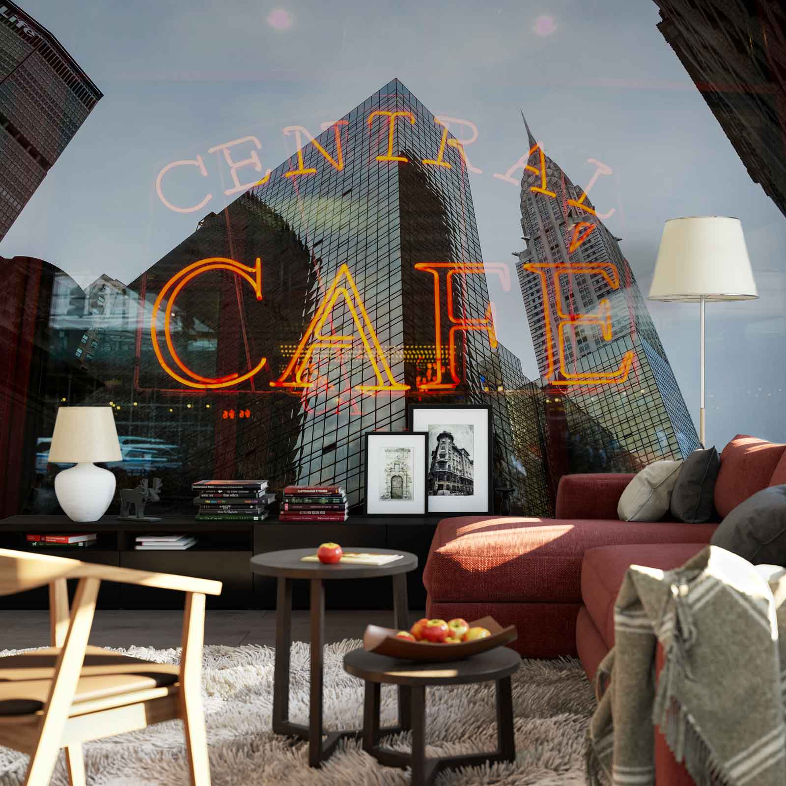 WALL MURAL PHOTO WALLPAPER XXL Central Cafe New York City Coffee