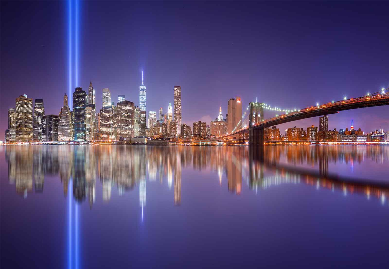 New York City Manhattan Skyline Wall Mural Photo