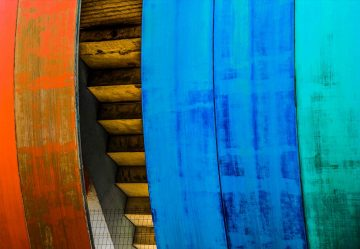 Colourful Wood