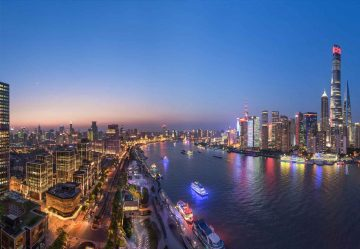 The Blue Hour In Shanghai