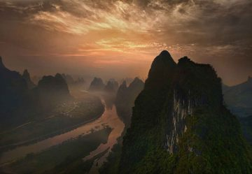 Dawn At Li River