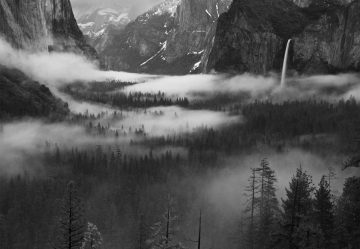 Fog Floating In Yosemite Valley