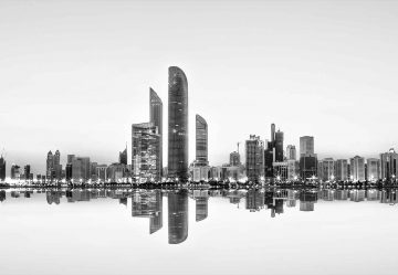 Abu Dhabi Urban Reflection