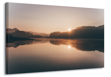 Sunrise Over The Lake