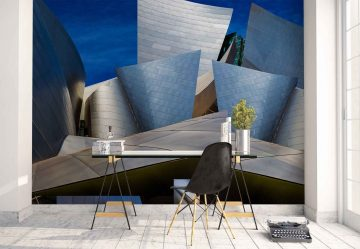 Disney Concert Hall Montaje