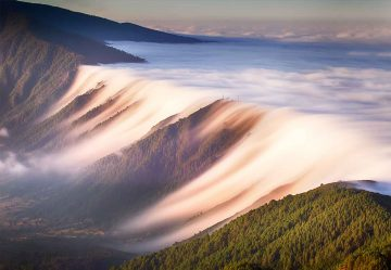 Waterfall Of Clouds