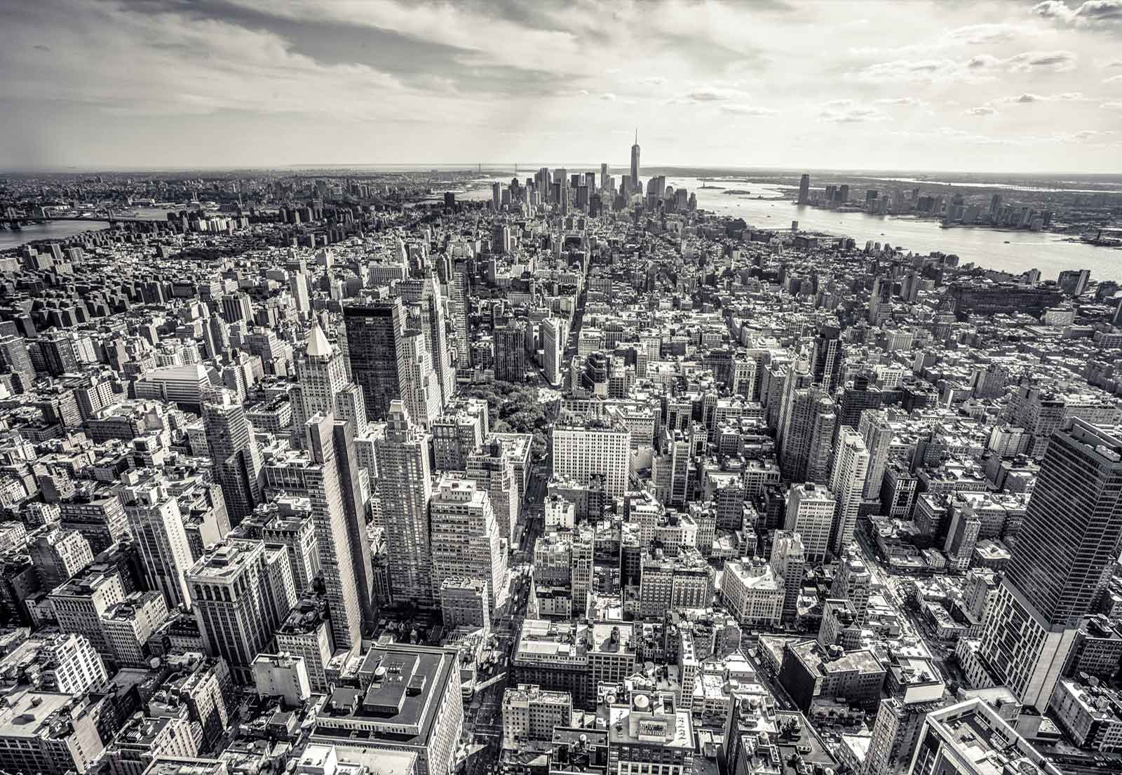 New York City Manhattan Skyline Wall Mural Photo Wallpaper